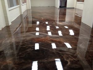 Metallic Marble Floors Waterloo, Iowa